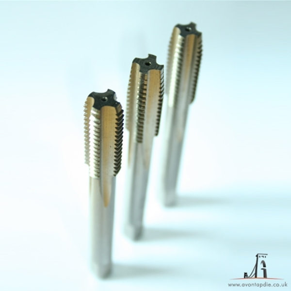 """Picture of UNF 1"""" x 12 - Tap Set (set of 3)"""