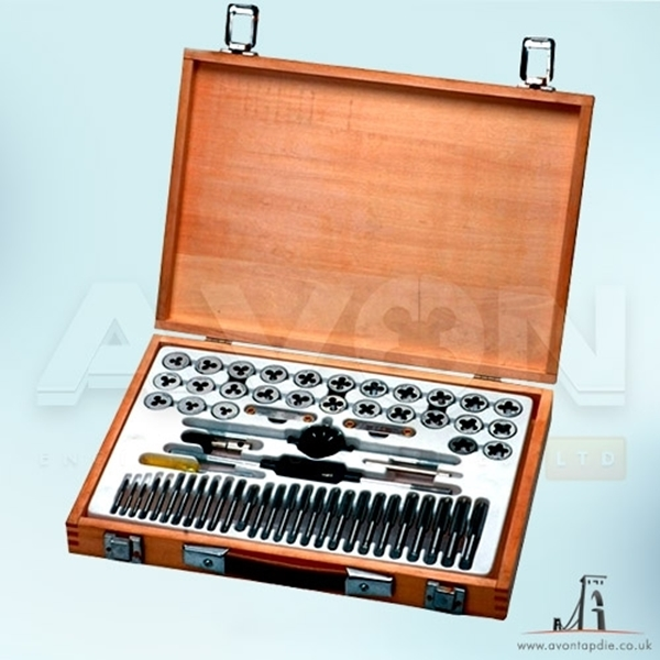 "Picture of BSPP Tap & Die Set (1.1/4"" - 2"")"