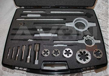 "Picture of NPT Tap & Die Set (NPT 1/8 to 2"")"