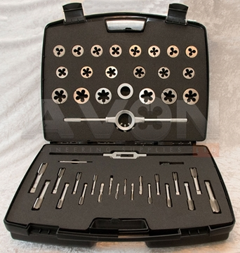 "Picture of UNC/UNF Tap & Die Set (UNC/UNF 1/4 - 1"")"