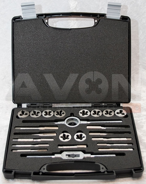 "Picture of BSF/BSW Tap & Die Set (1/4"" to 1/2"")"