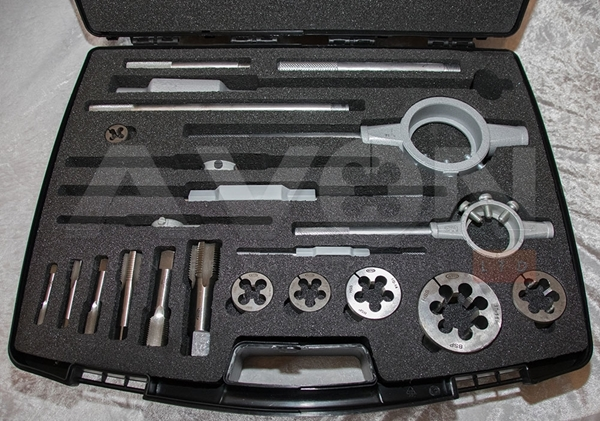 Picture of BSPT Tap & Die Set (BSPT 1/8 to 2)